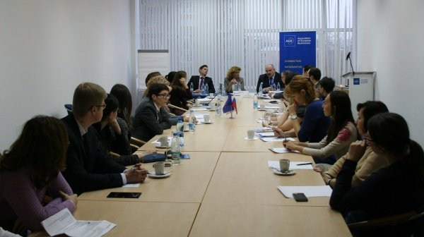 AEB Migration committee organized a round table with participation of Moscow Department