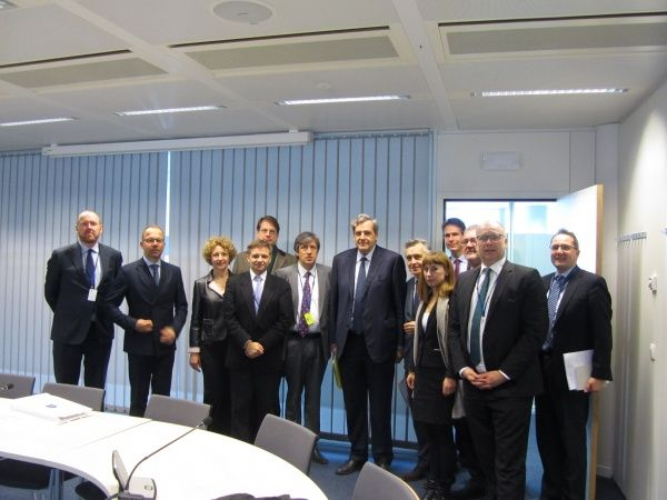 AEB delegation visited European Institutions in Brussels